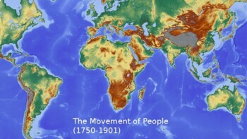 The Movement of People: Industrial Revolution, Prison Colonies and Slave Trade (