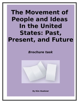 The Movement of  People and Ideas In the United States: Past, Present, Future