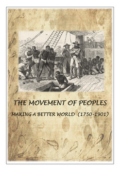 The Movement of Peoples 1750-1905