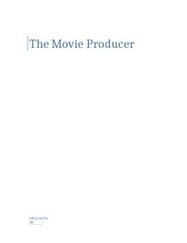 The Movie Producer