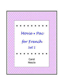 Movie * Pac For French Set 1
