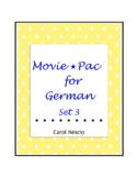 Movie * Pac For German Set 3