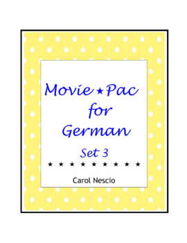 Movie * Pac For German Set 3