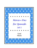 Movie * Pac For Spanish Set 1