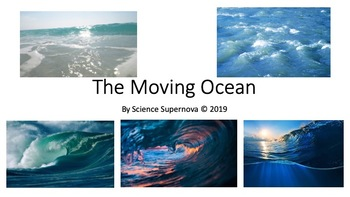 The Moving Ocean Power Point With Student Note Taking Guide