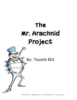 The Mr. Arachnid Project {Geography & Pen-Pal FUN!}