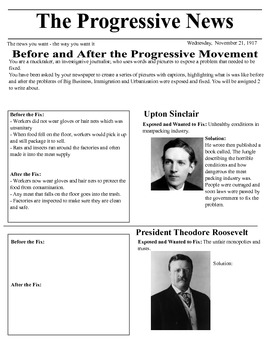 The Muckrakers of the Progressive Movement