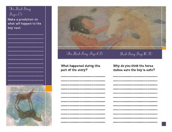 The Mud Pony Guided Reading Brochure