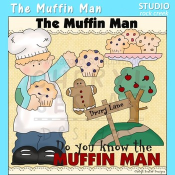 The Muffin Man Clip Art C Seslar