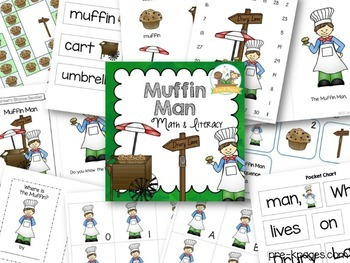 The Muffin Man Nursery Rhyme Activities