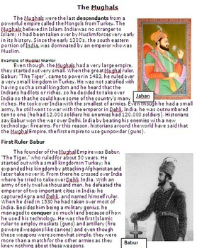 The Mughal Empire in Ancient India - Jahar and Babur