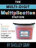 The Multi-Digit Multiplication Station: Self-Paced   Dista