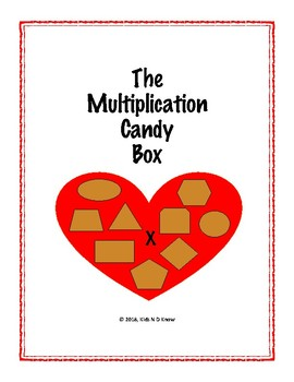 The Multiplication Candy Box