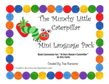The Munchy Little Caterpillar: Mini Language Pack