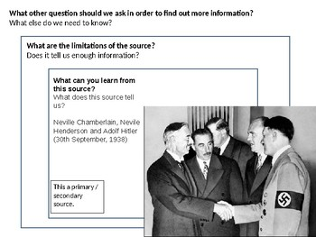 The Munich Agreement Source Analysis Activity