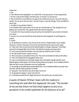 The Murder of Emmett Till PBS Movie Guide