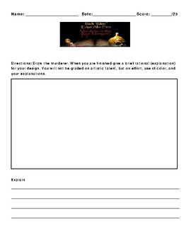 The Murders in the Rue Morgue by Edgar Allan Poe Assignment