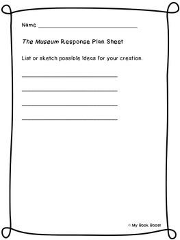The Museum Book Response