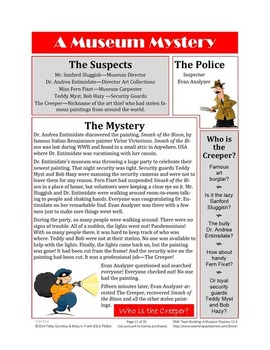 Decision Making for Kids: Team Building featuring A Museum Mystery!