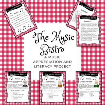 The Music Bistro: A Music Appreciation and Literacy Project