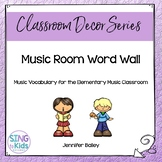 Music Room Word Wall
