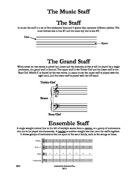 The Music Staff WS9