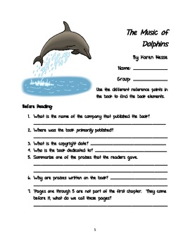 The Music of Dolphins Novel Work