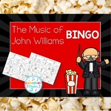 The Music of John Williams BINGO