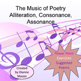 The Music of Poetry Alliteration, Consonance, Assonance