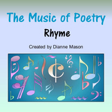 The Music of Poetry Rhyme
