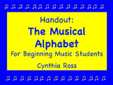 The Musical Alphabet Study Guide