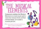 The Musical Elements Posters