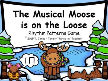 Music Game: Musical Moose is on the Loose: Adventure 1 {ta ti-ti}