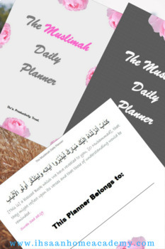 The Muslimah Daily Planner