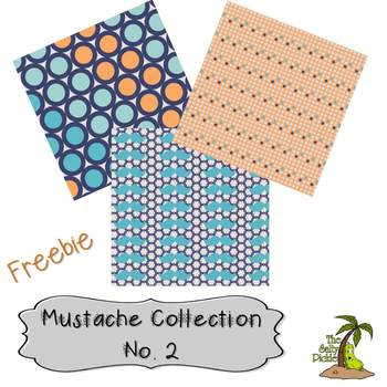The Mustache Paper Collection No. 2 Freebie