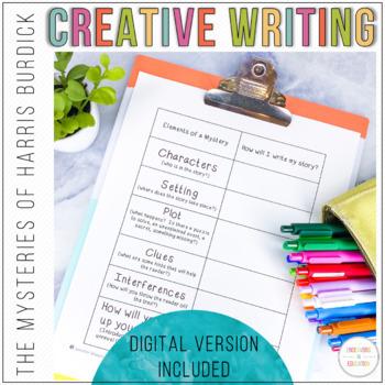 Creative Writing Activity Using The Mysteries of Harris Burdick