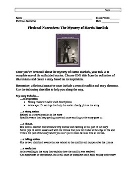 The Mysteries of Harris Burdick: Writing Project