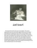 The Mysteries of Harris Burdick creative writing example (Just Dessert)