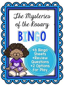 The Mysteries Of Rosary Bingo