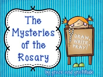 The Mysteries of the Rosary: Draw, Write, Pray!