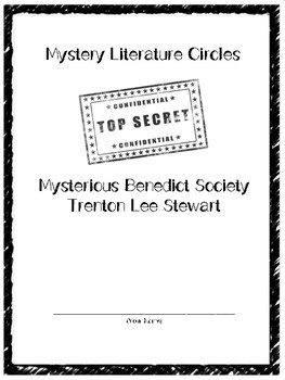 The Mysterious Benedict Society Literature Circles or Novel Study