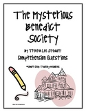 """The Mysterious Benedict Society"", by T. L. Stewart, Comp. Questions"