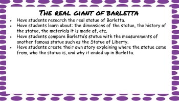 The Mysterious Giant of Barletta Mini Unit