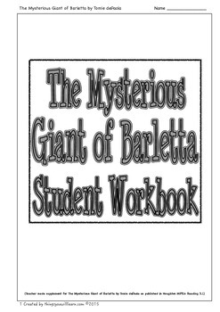 The Mysterious Giant of Barletta Student Workbook