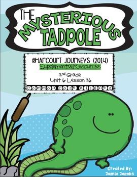 The Mysterious Tadpole (Journeys 2nd Grade - Supplemental Materials)