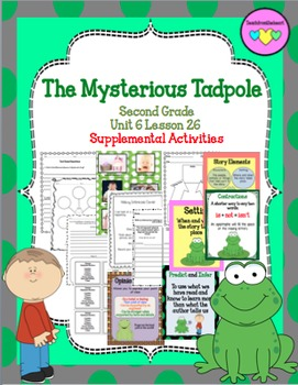 The Mysterious Tadpole ( Journeys Second Grade Unit 6 Lesson 26)