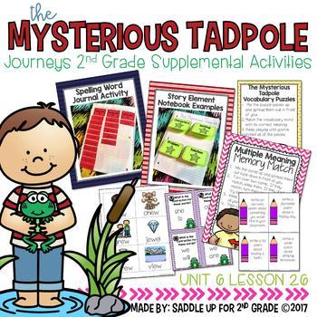 The Mysterious Tadpole Supplemental Activities