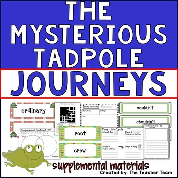 The Mysterious Tadpole Journeys 2nd Grade Unit 6 Lesson 26 Activities