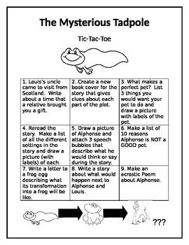 The Mysterious Tadpole Tic-Tac-Toe