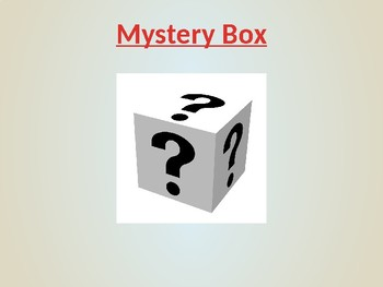 The Mystery Box Powerpoint game!